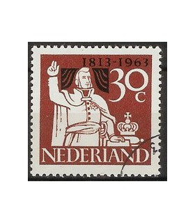 810 Onafhankelijkheidszegel (o)