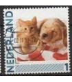 2791 Ha-26 Kat en hond (o)