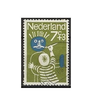 830 Kinderzegel (o)