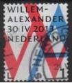 3057 Willem Alexander Inhuldigingszegel (o)