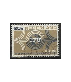 840 I.T.U zegel (o)