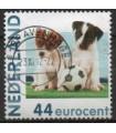 2682 Hb-10 Hallmark honden en voetbal (o)