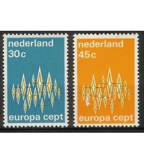 1007 - 1008 Europazegels (xx)