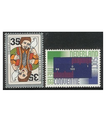 1075 - 1076 Internationale serie (xx)