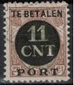 Postpakketverrekenzegel 1 (o)