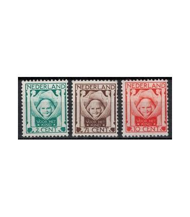 141 - 143 Kinderzegels (xx)